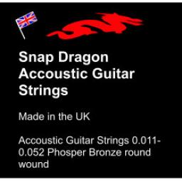 Snap Dragon Accoustic Guitar Strings